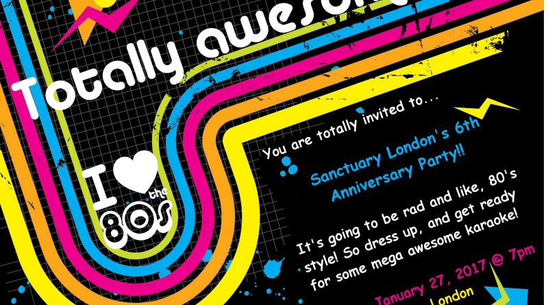 Upcoming Event!! – Sanctuary's 6th Anniversary Party!!